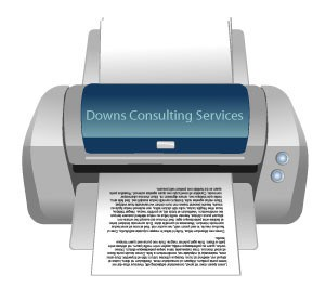 Inkjet printer Downs Consulting
