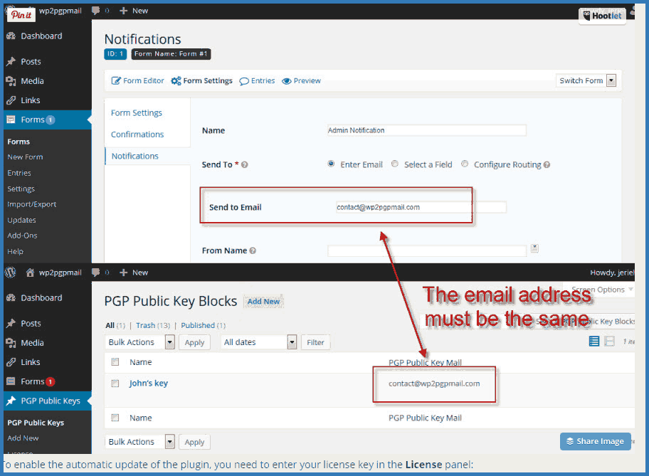Installation instructions for Gravity Forms PGP Encryption plugin