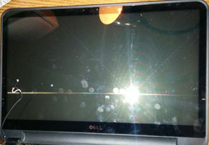 Our Laptop screen with digitizer